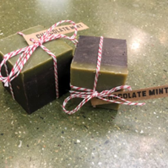 Chocolate Mint Seasonal Soap